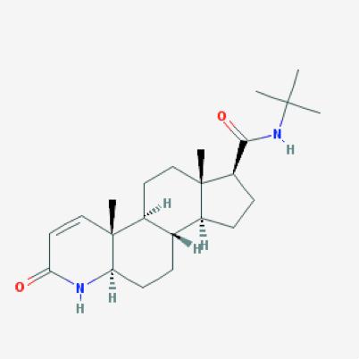 Finasteride structural formula
